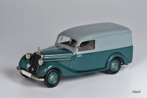 Прикрепленное изображение: Mercedes-Benz W136 1952 170 Vb Kasten-Lieferwagen Aufbau Sindelfingen Кузнецов 051 1.jpg