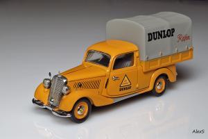 Прикрепленное изображение: Mercedes-Benz W136 170 V Planenwagen Dunlop Reifen Schuco 02265 1.jpg