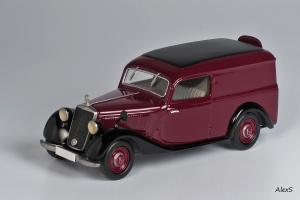 Прикрепленное изображение: Mercedes-Benz W136 1937 170 V Kasten-Lieferwagen Aufbau  Кузнецов 049 1.jpg