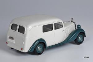 Прикрепленное изображение: Mercedes-Benz W136 1949 170 V Kasten-Lieferwagen Aufbau Jauernig Кузнецов 054 2.jpg