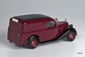 Прикрепленное изображение: Mercedes-Benz W136 1937 170 V Kasten-Lieferwagen Aufbau  Кузнецов 049 2.jpg