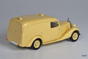 Прикрепленное изображение: Mercedes-Benz W136 1949 170 V Kasten-Lieferwagen 4-Turen Aufbau Lueg Кузнецов 052 2.jpg