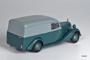 Прикрепленное изображение: Mercedes-Benz W136 1952 170 Vb Kasten-Lieferwagen Aufbau Sindelfingen Кузнецов 051 2.jpg