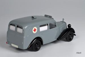 Прикрепленное изображение: Mercedes-Benz W136 1948 170 V Krankenwagen Aufbau Lueg Кузнецов 041 2.jpg