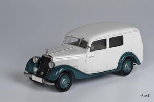 Прикрепленное изображение: Mercedes-Benz W136 1949 170 V Kasten-Lieferwagen Aufbau Jauernig Кузнецов 054 1.jpg