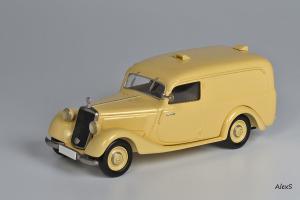 Прикрепленное изображение: Mercedes-Benz W136 1949 170 V Kasten-Lieferwagen 4-Turen Aufbau Lueg Кузнецов 052 1.jpg