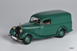 Прикрепленное изображение: Mercedes-Benz W136 1949 170 V Kasten-Lieferwagen 4-Turen Aufbau Hagele Кузнецов 053 1.jpg