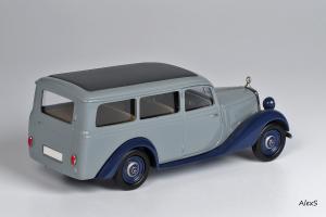 Прикрепленное изображение: Mercedes-Benz W136 1949 170 V Kombiwagen 3-Turen Aufbau Miesen Кузнецов 038 2.jpg