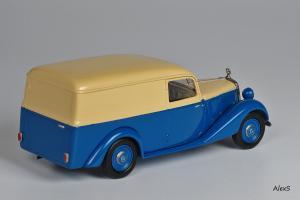 Прикрепленное изображение: Mercedes-Benz W136 1949 170 V Kasten-Lieferwagen Aufbau Sindelfingen Кузнецов 050 2.jpg