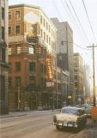 Прикрепленное изображение: PHOTO - TORONTO - THE TELEGRAM BUILDING - BAY AND MELINDA - 1950s.jpg