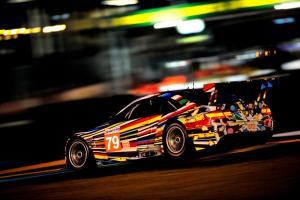 Прикрепленное изображение: BMW-Art-Car-at-Le-Mans-Night.jpg