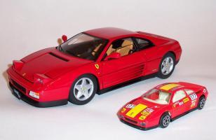 Прикрепленное изображение: Ferrari 348 TB 1989 (Red) - Hot wheels Elite.JPG