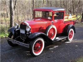Прикрепленное изображение: 1931 Ford A PickUp Fire(21).jpg