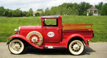 Прикрепленное изображение: 1931 Ford A PickUp Fire(23).jpg