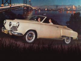 Прикрепленное изображение: Studebaker Champion Convertible, beige 1951.jpg