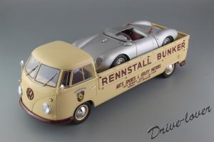 Прикрепленное изображение: Porsche 550 Spyder (set with VW T1 Renntransporter) Schuco 450007700_31.jpg