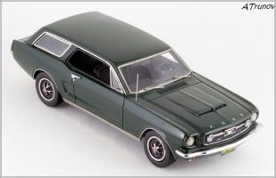 Прикрепленное изображение: 1965 Ford Mustang Intermeccanica Wagon green metallic - Matrix Scale Models - MX20603-101 - 4_small.jpg