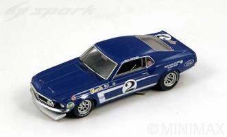 Прикрепленное изображение: 1969 Ford Mustang Trans-Am N2 Mustang Clubs Racing Team Gurney - Spark - SPK2641.jpg