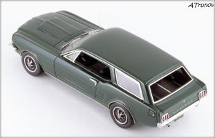 Прикрепленное изображение: 1965 Ford Mustang Intermeccanica Wagon green metallic - Matrix Scale Models - MX20603-101 - 2_small.jpg