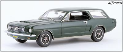 Прикрепленное изображение: 1965 Ford Mustang Intermeccanica Wagon green metallic - Matrix Scale Models - MX20603-101 - 1_small.jpg