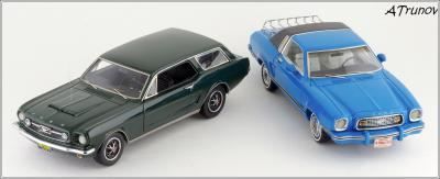 Прикрепленное изображение: 1965 Ford Mustang Intermeccanica Wagon green metallic - Matrix Scale Models - MX20603-101 - 5_small.jpg