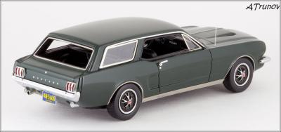 Прикрепленное изображение: 1965 Ford Mustang Intermeccanica Wagon green metallic - Matrix Scale Models - MX20603-101 - 3_small.jpg