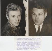 Прикрепленное изображение: 1967Johnny HALLYDAY & Henri CHEMIN.JPG
