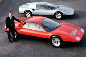 Прикрепленное изображение: 1968 Ferrari 250 P6 , 1971 Ferrari 365 GT4 BB Prototipo, Leonardo Fiorovanti.jpg