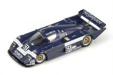 Прикрепленное изображение: S1259_Kouros_Mercedes_C8__No.61__Le_Mans_1986_J._Nielsen___M._Thackwell.jpg