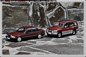 Прикрепленное изображение: AutoArt_Meredes_Benz_190E___AutoArt_Mitsubishi_Pajero.jpg