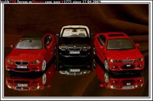 Прикрепленное изображение: AutoArt_BMW_M3__E46____Kyosho_BMW_M3__E92____Kyosho_BMW_335i.jpg