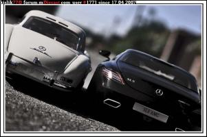 Прикрепленное изображение: Minichamps_Mercedes_Benz_SLS___Minichamps_Mercedes_Benz_300SL.jpg