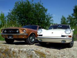 Прикрепленное изображение: Porsche_911_S_1967___Ford_Mustang_GT_390_1967___3_.JPG