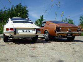 Прикрепленное изображение: Porsche_911_S_1967___Ford_Mustang_GT_390_1967___7_.JPG