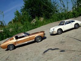 Прикрепленное изображение: Porsche_911_S_1967___Ford_Mustang_GT_390_1967___9_.JPG