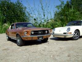 Прикрепленное изображение: Porsche_911_S_1967___Ford_Mustang_GT_390_1967___10_.JPG