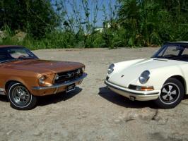 Прикрепленное изображение: Porsche_911_S_1967___Ford_Mustang_GT_390_1967___15_.JPG