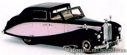 Rolls-Royce Silver Wraith Sedanca de Ville Hooper FYP
