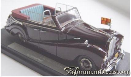 Rolls-Royce Silver Wraith Hooper Queen Elizabeth 1959 FYP